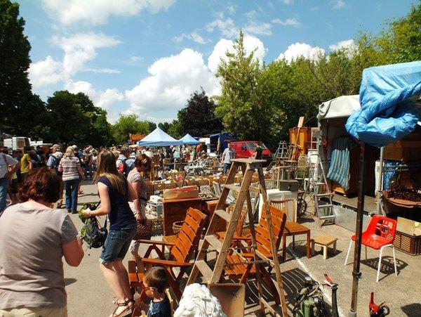 Antik- und Trödelmarkt auf dem agra-Messepark