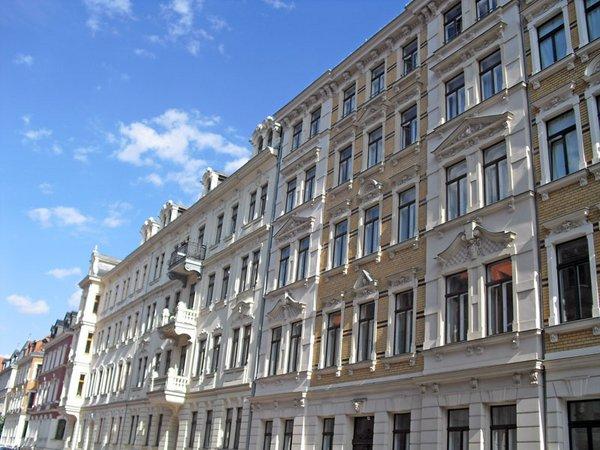 Gründerzeithäuser im Waldstrassenviertel