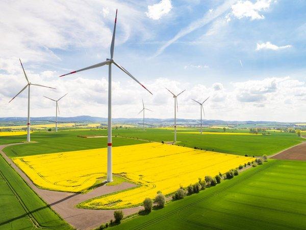 Leipziger Windpark Tuengeda, Foto: Leipziger Gruppe