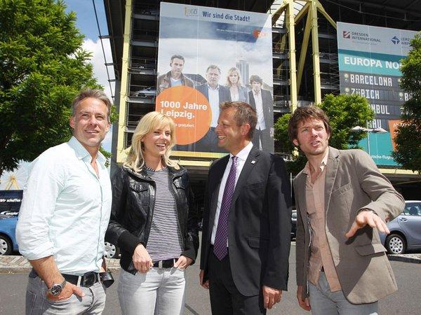 Marco Girnth, Melanie Marschke, Torsten Bonew und Steffen Schroeder