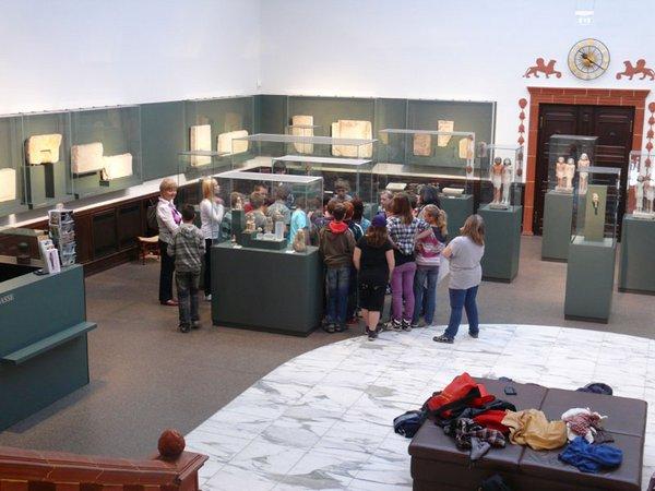 Schulführungen im Ägyptischen Museum
