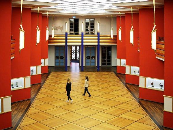 GRASSI Museum für Angewandte Kunst - Pfeilerhalle, Foto: Andreas Schmidt