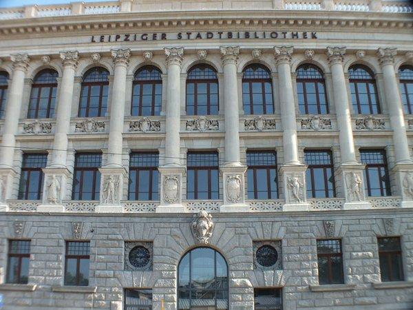 Leipziger Stadtbibliothek, Foto: LEIPZIGINFO.DE