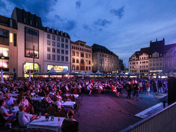 Leipziger Markt Musik, Foto: FAIRNET GmbH