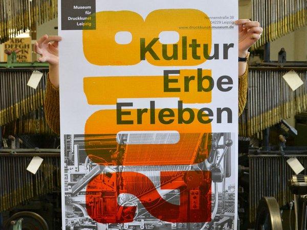 Kultur Erbe Erleben, Foto: Museum für Druckkunst Leipzig