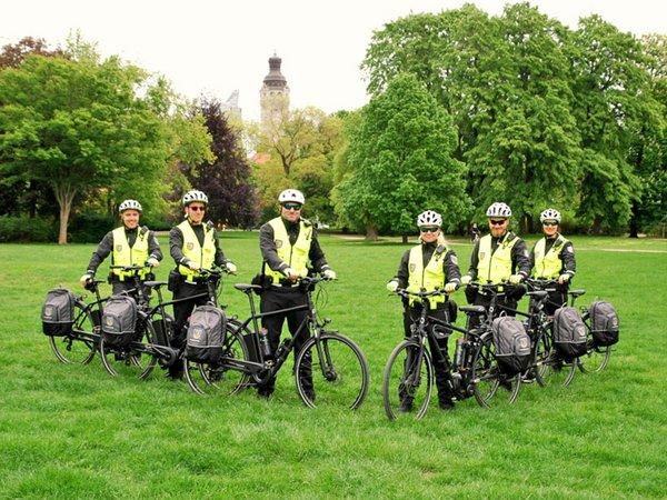 Fahrradstaffel des Stadtordnungsdienstes, Foto: Stadt Leipzig / Quosdorf
