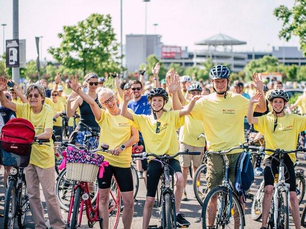 Das Fahrrad gesattelt und los geht's: mit dem Paunsdorf Center das Leipziger Umland erkunden, Foto: Paunsdorf Center