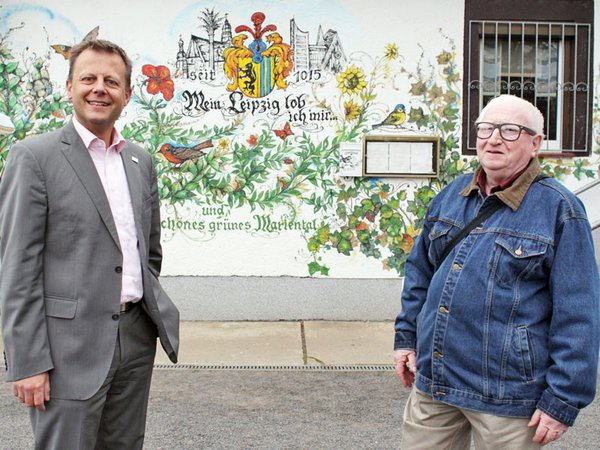 Torsten Bonew und Wolfgang Voigt