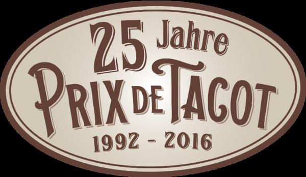 Plakette 25 Jahre Prix de Tacot
