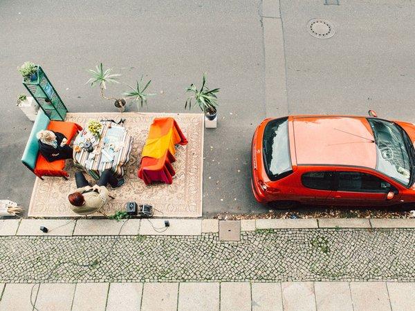 PARKing Day, Foto: Ökolöwe