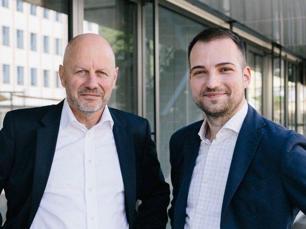 Prof. Dr. Bernhard Schwetzler und Dr. Benjamin Hammer, Foto: HHL