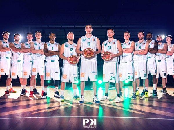 Uni-Riesen Leipzig Team 2014/15