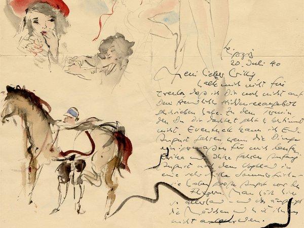 Max Schwimmer, Auszug vom Brief an Wilhelm Geyger, 20.07.1940, Foto SGM