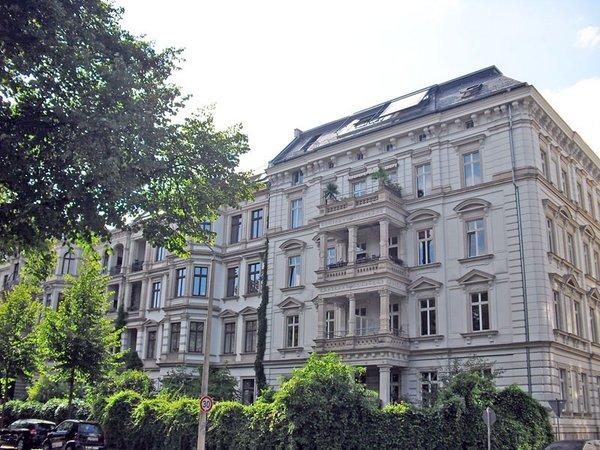 Gründerzeithäuser im Bachviertel