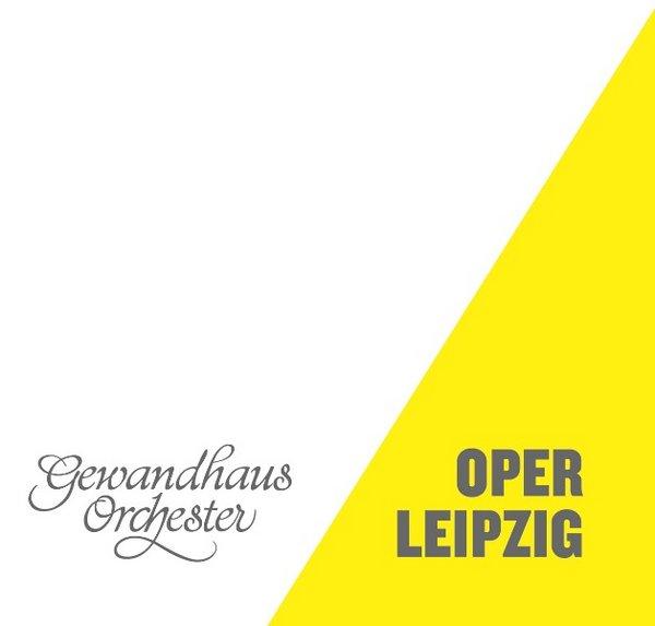 Gemeinsames Logo von Gewandhaus Orchester und Oper Leipzig