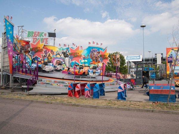 Pop-up-Freizeitpark am Paunsdorf Center Leipzig, Foto: Centermanagement