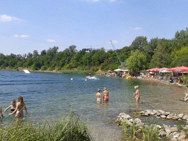Wakeboard und Wasserski am Kulkwitzer See, Foto: LEIPZIGINFO.DE