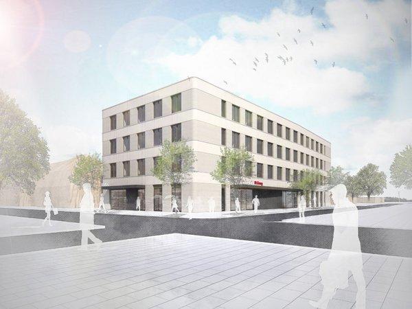 Visualisierung des neuen Ambulanzgebäudes, Foto: Klinikum St. Georg