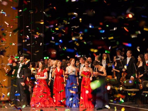 Silvester-Gala in der Oper Leipzig, Foto: Alexander Klich