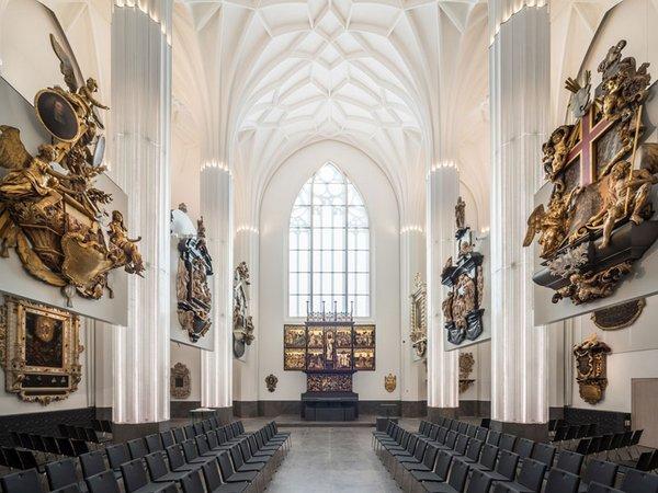 Blick ins Paulinum – Aula und Universitätskirche St. Pauli (Altarbereich), Foto: Kustodie der Universität Leipzig / Steffen Spitzner