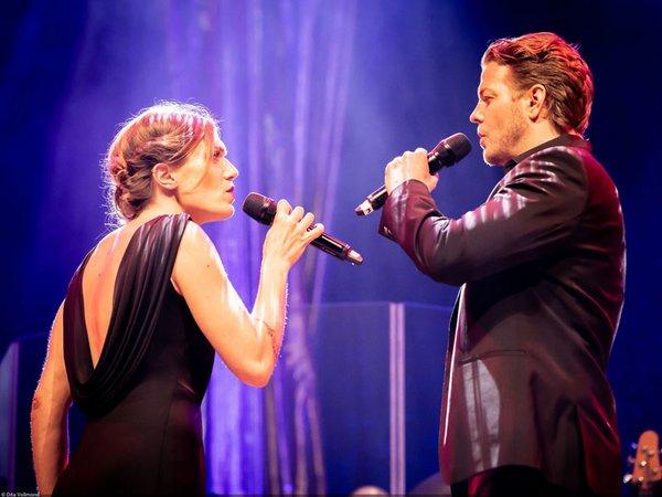 Greatest-Show: Mark Seibert und Roberta Valentini, Foto: Dita Vollmond