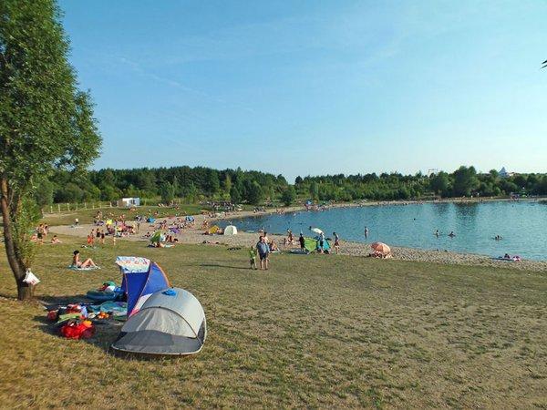 Schladitzer Bucht am Schladitzer See