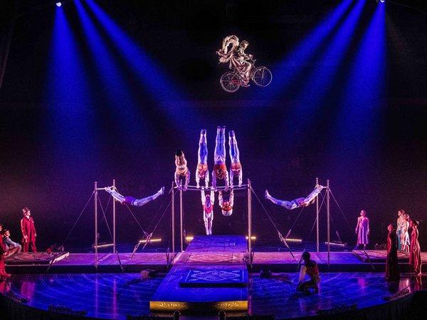 Cirque du Soleil, Foto: Dominique Lemieux