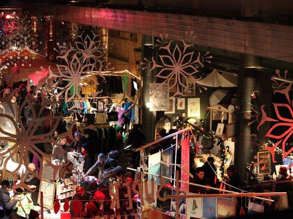 Weihnachtsmarkt im Werk 2, Foto: Werk 2