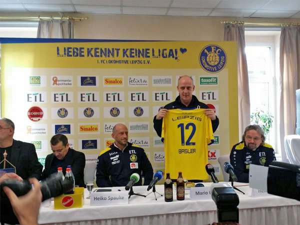 Offizielle Vorstellung von Mario Basler (Geschäftsführer Sport)