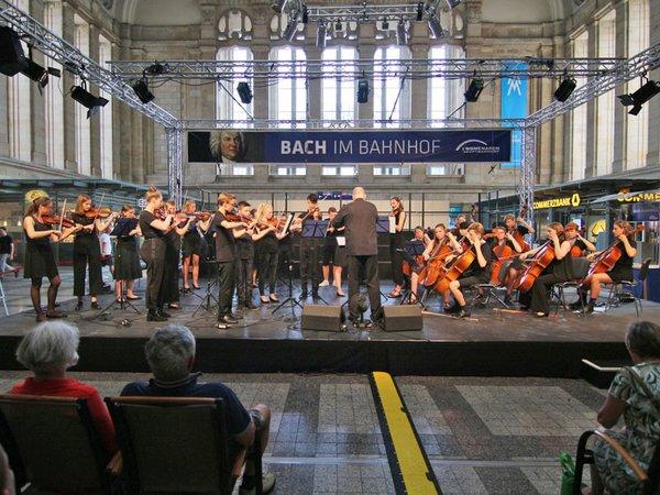 BachSpiele 2019: Jugendstreichorchester, Foto: die naTo