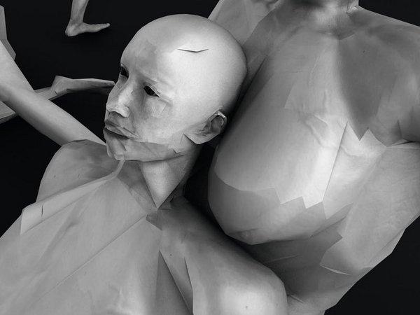 Ausstellung zum Thema Körper als Medien, Foto: Melissa Leander Lücking