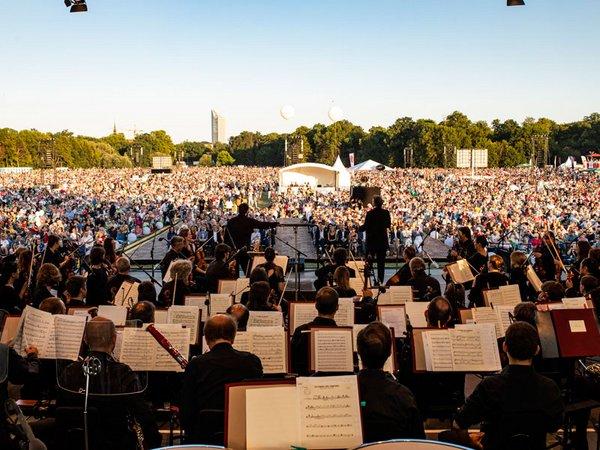 25.000 Besucher am ersten Konzertabend, Foto: Porsche AG