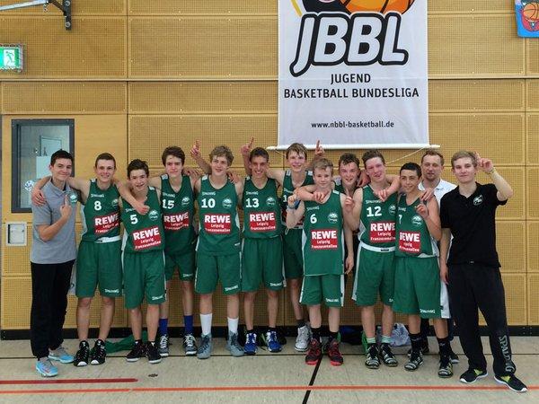 Die jungen Uni-Riesen qualifizieren sich für die Jugendbasketballbundesliga (JBBL)