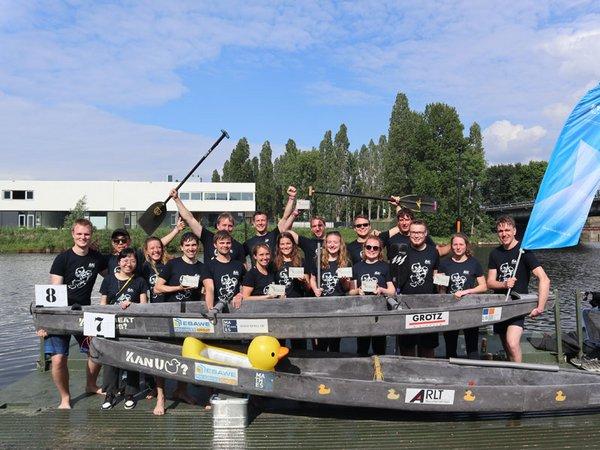 Das erfolgreiche Betokanuteam der HTWK Leipzig, Foto: HTWK