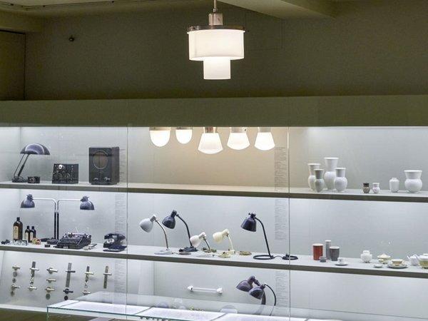 Doppelzylinderleuchte in der Dauerausstellung, Foto: Esther Hoyer