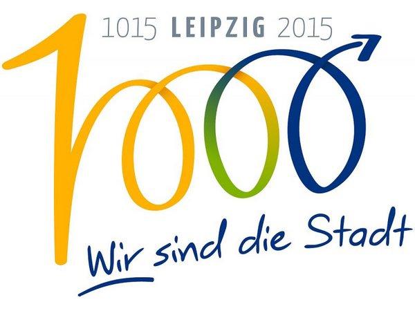 Logo 1000 Jahre Leipzig