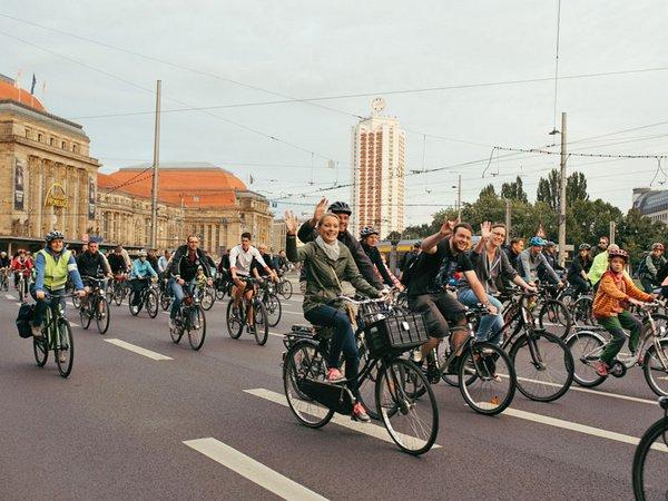 Stadtradeln Leipzig, Foto: Ökolöwe