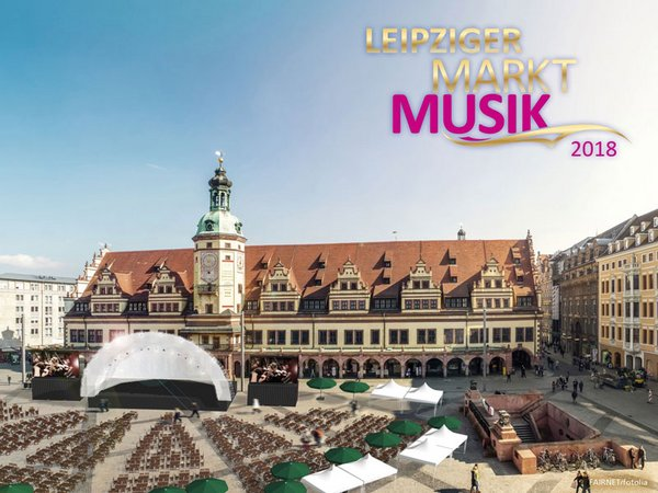 Marktplatzaufplanung Leipziger Mark Musik, Foto: FAIRNET