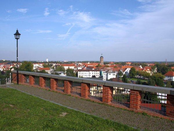 Blick vom Burgberg Eilenburg über die Stadt, Foto: Stadt Eilenburg