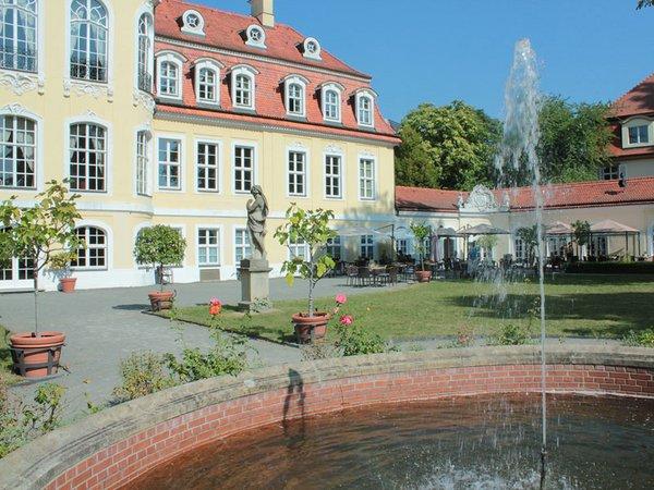 Schlossgarten Gohliser Schlösschen, Foto: Restaurant & Café Gohliser Schlösschen
