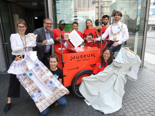 Teilnehmer Projekt Museum on Tour, Foto: SGM