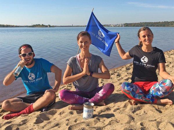 Viva con Yoga - Yoga am Markkleeberger See 2019, Foto: Nelly Flieger