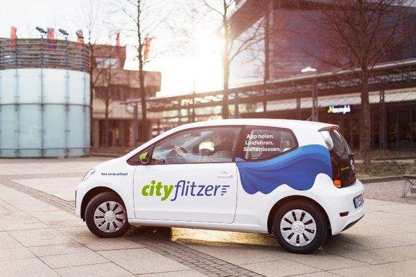 """Ein """"cityflitzer"""""""
