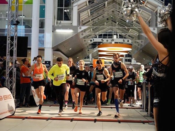 Startschuss zum zweiten P.C. Center Run, Foto: Paunsdorf Center