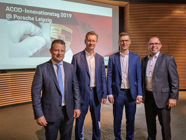 Eröffnung des Innovationstages im Porsche Werk Leipzig, Foto: Porsche AG