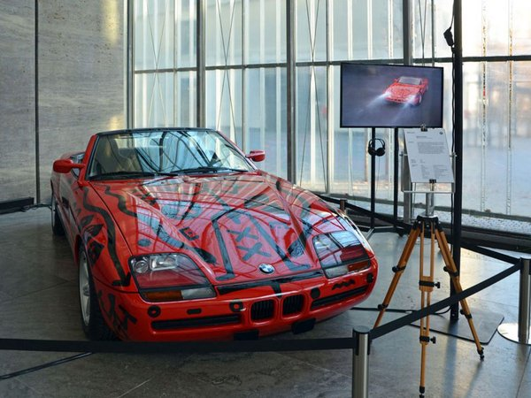 BMW Art Car Nr. 11 - A.R. Penck, Foto: Vivien Kampa