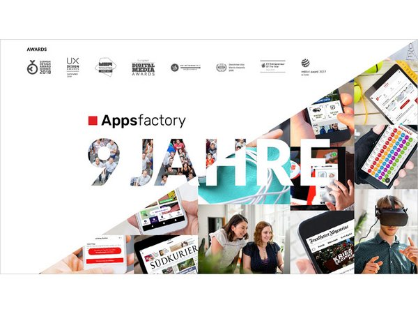 9 Jahre Appsfactory, Foto: Appsfactory