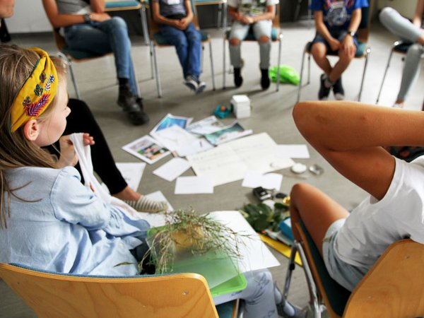 Jugendaufsichtsrat diskutiert Ideen, Foto: Naturkundemuseum Leipzig