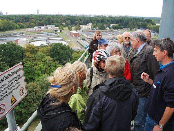 Führung im Klärwerk Rosental, Foto: Leipziger Gruppe