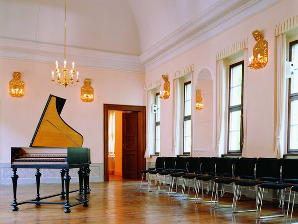 Im Sommersaal des Bach-Museums Leipzig finden Konzerte statt, Foto: Bach-Museum Leipzig, Martin Klindtworth